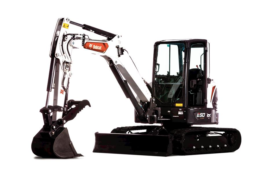 New Bobcat E50 Compact Excavator (Long Arm)